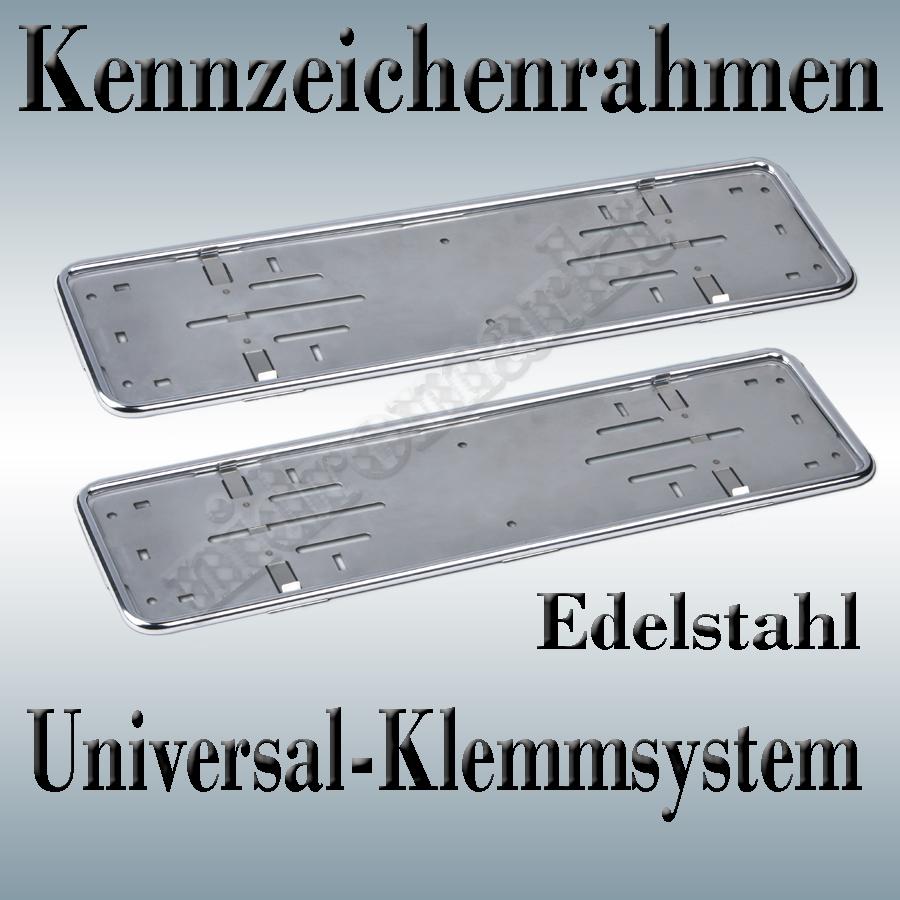 2Tajco Nummernschild-, Kennzeichenhalter Edelstahl 9520 | eBay